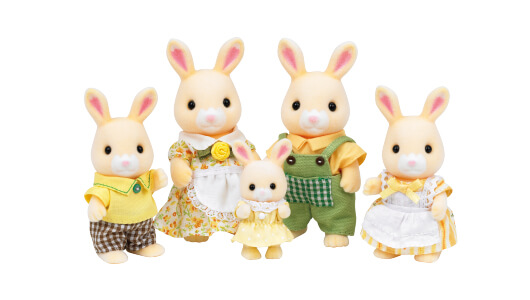 Hanazono Rabbit Family