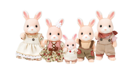 Nonohana Rabbit Family