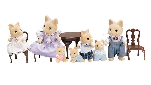 Ivory Cat Family