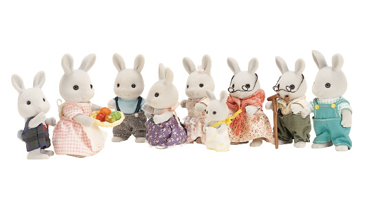 Gray Rabbit Family