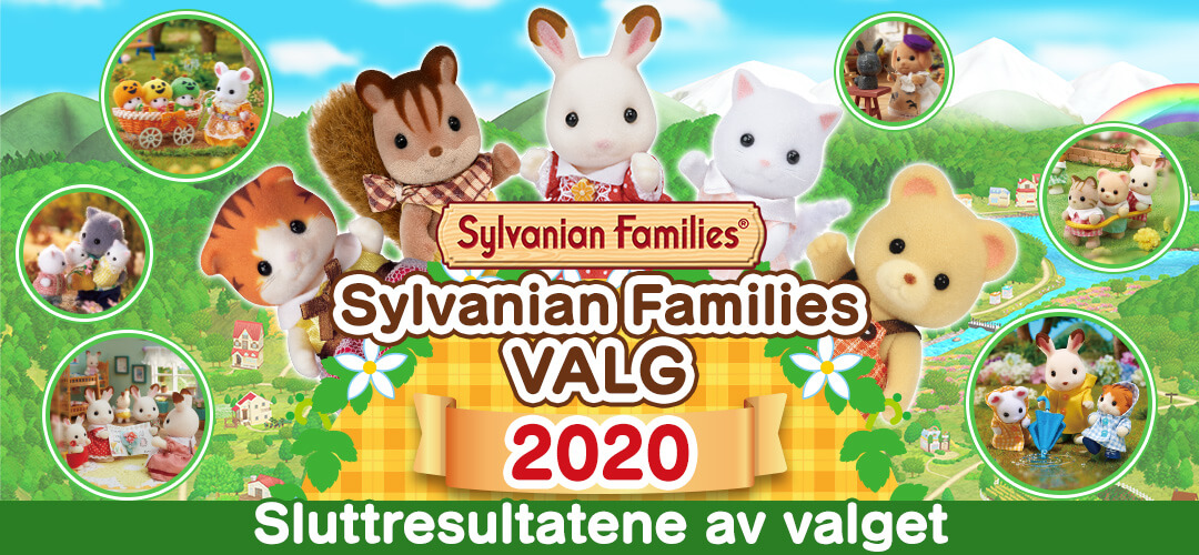 Sylvanian Falmilies VALG