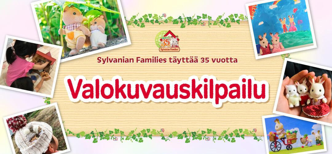 Sylvanian Families täyttää 35 vuotta Valokuvauskilpailu