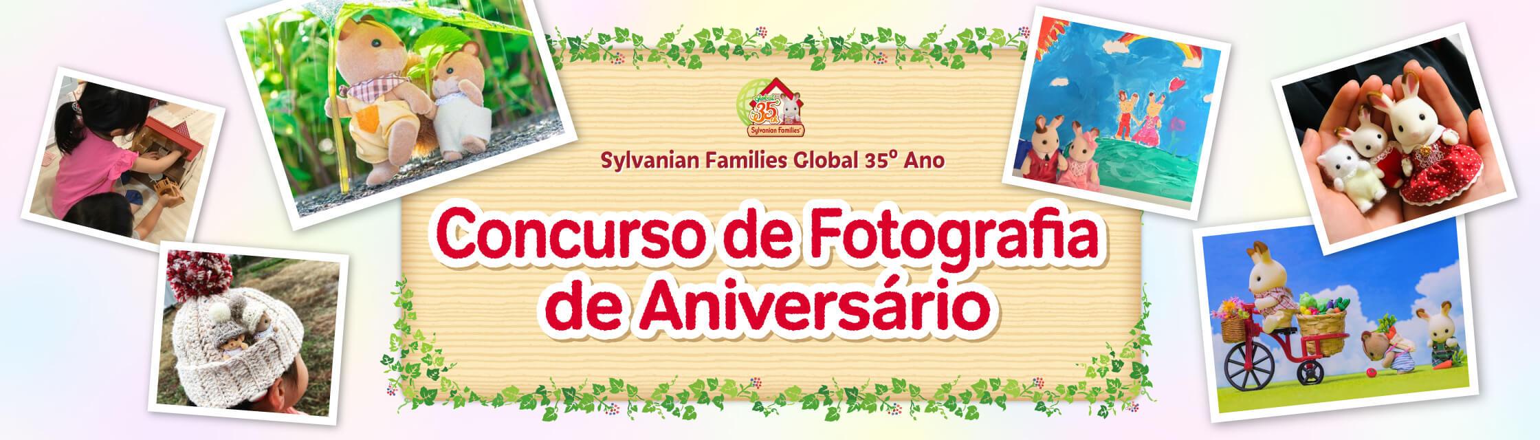 Sylvanian Families Global 35º Ano Concurso de Fotografia de Aniversário