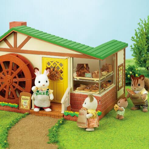 森の水車のパン屋さん