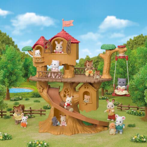 森のどきどきツリーハウス