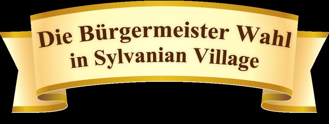 Die Bürgermeister Wahl in Sylvanian Village