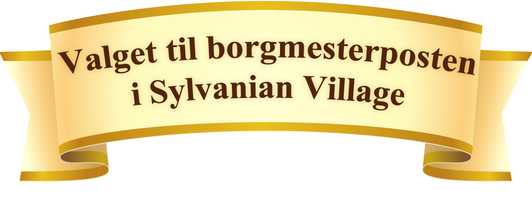 The Mayor Election for The Sylvanian Village