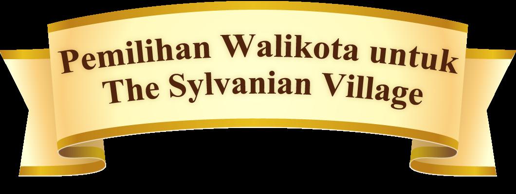 Pemilihan Walikota untuk The Sylvanian Village