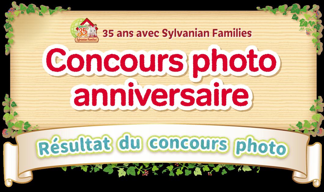 35 ans avec Sylvanian Families Concours photo anniversaire
