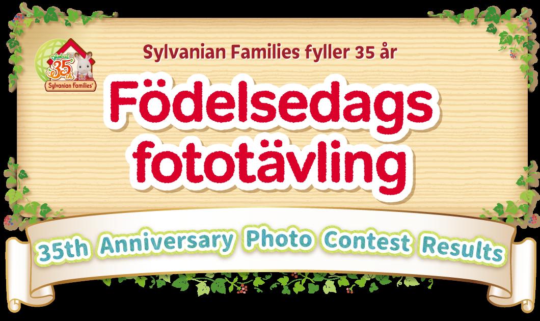 Sylvanian Families fyller 35 år Födelsedags fototävling