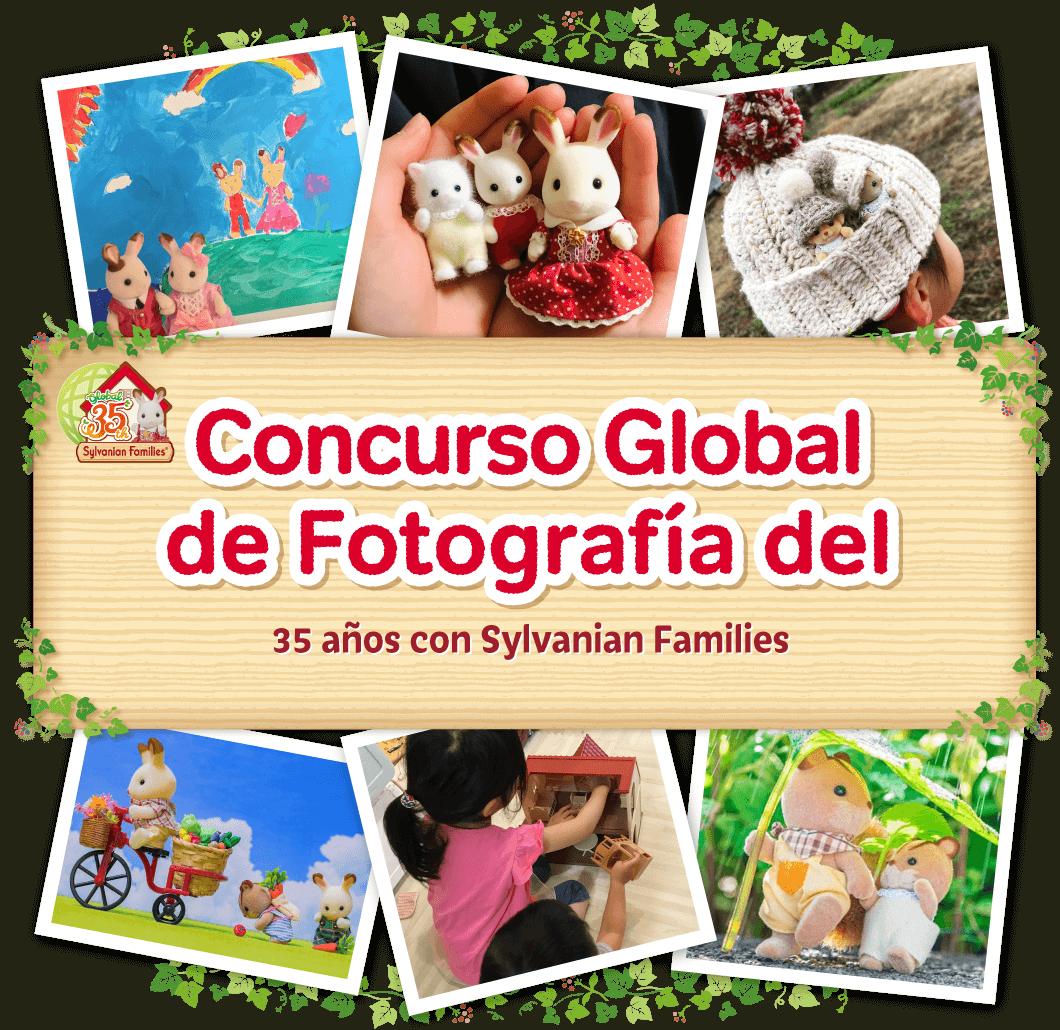 Concurso Global de Fotografía del 35 Aniversario de Sylvanian Families